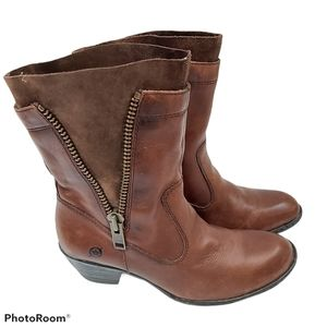 Born MILA Western Motorcycle Leather Boots sz 7.5